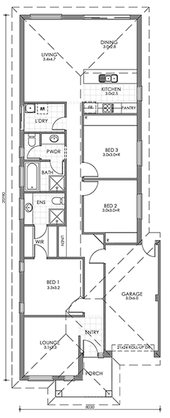 Bach for Bach floor plans